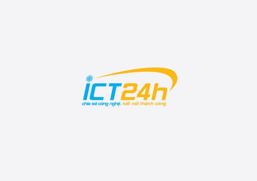 ICT24h | Logo design 5