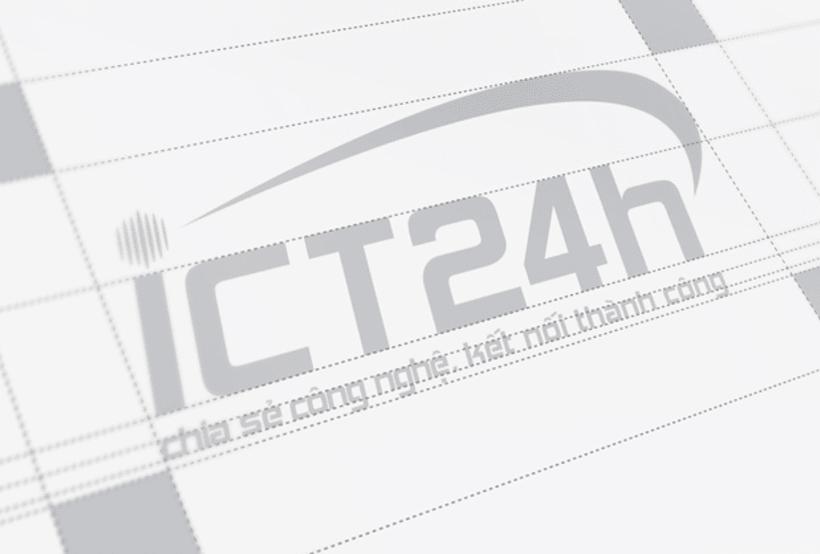 ICT24h | Logo design 3