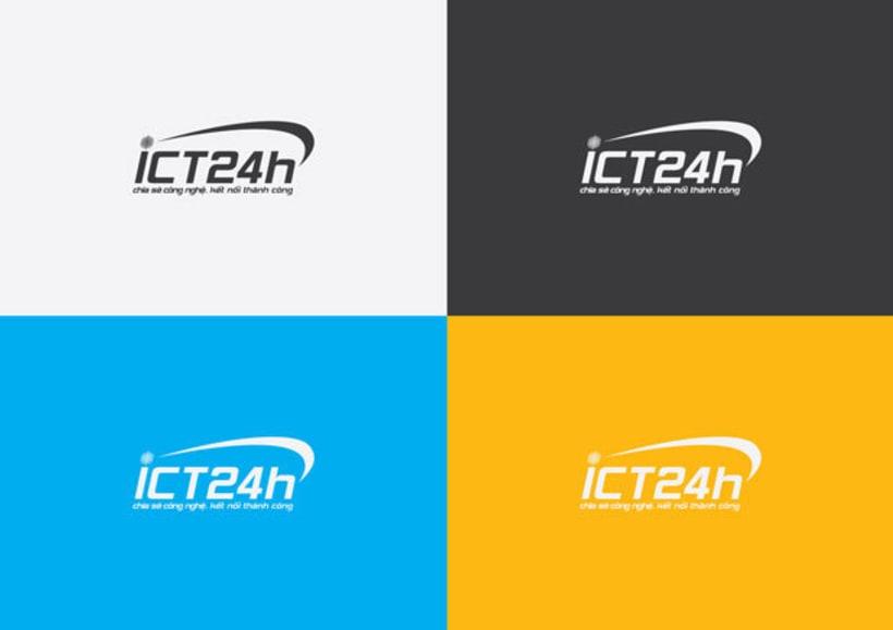 ICT24h | Logo design 7