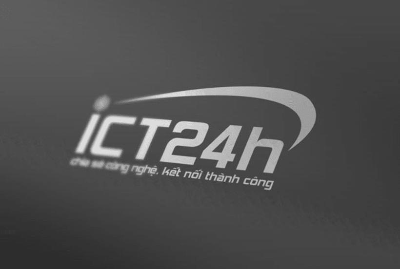 ICT24h | Logo design 11