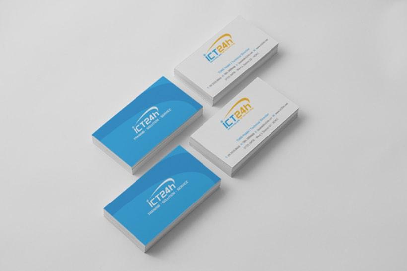 ICT24h | Logo design 12