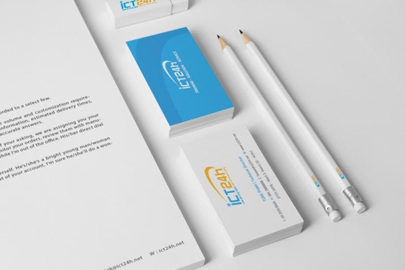 ICT24h | Logo design 14