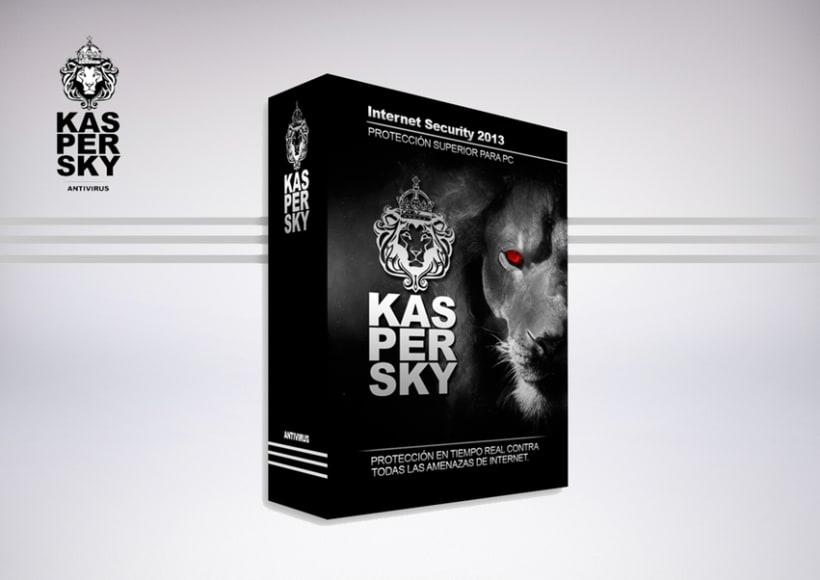 Rediseño Kaspersky (Packaging) -1