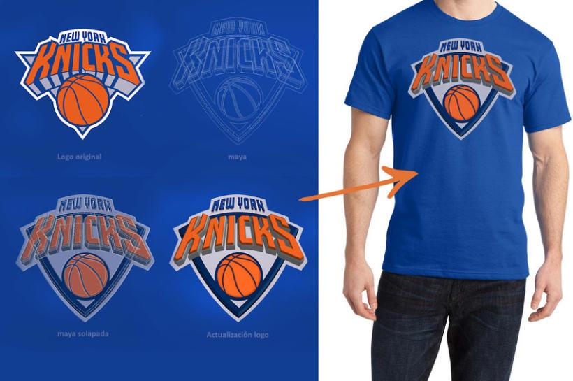 Actualización logo New York Knicks 2