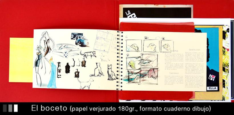 Maquetación creativa.  Proyecto Diseño Gráfico 3