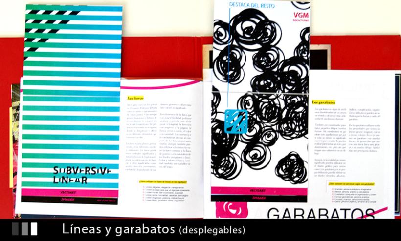 Maquetación creativa.  Proyecto Diseño Gráfico 6