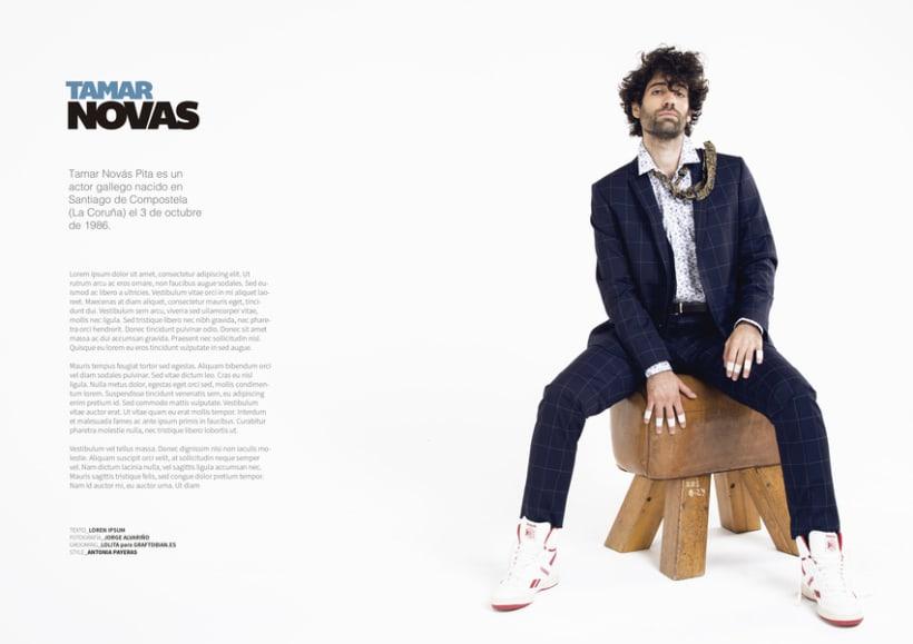 Tamar Novas para DMSTK magazine 5