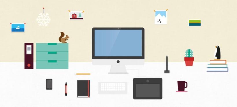 Desk illustration -1