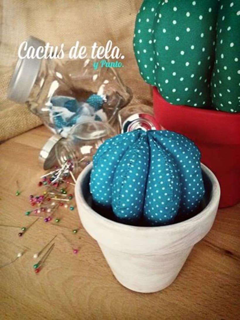 Cactus de tela - / Hechos a mano con amor / 0