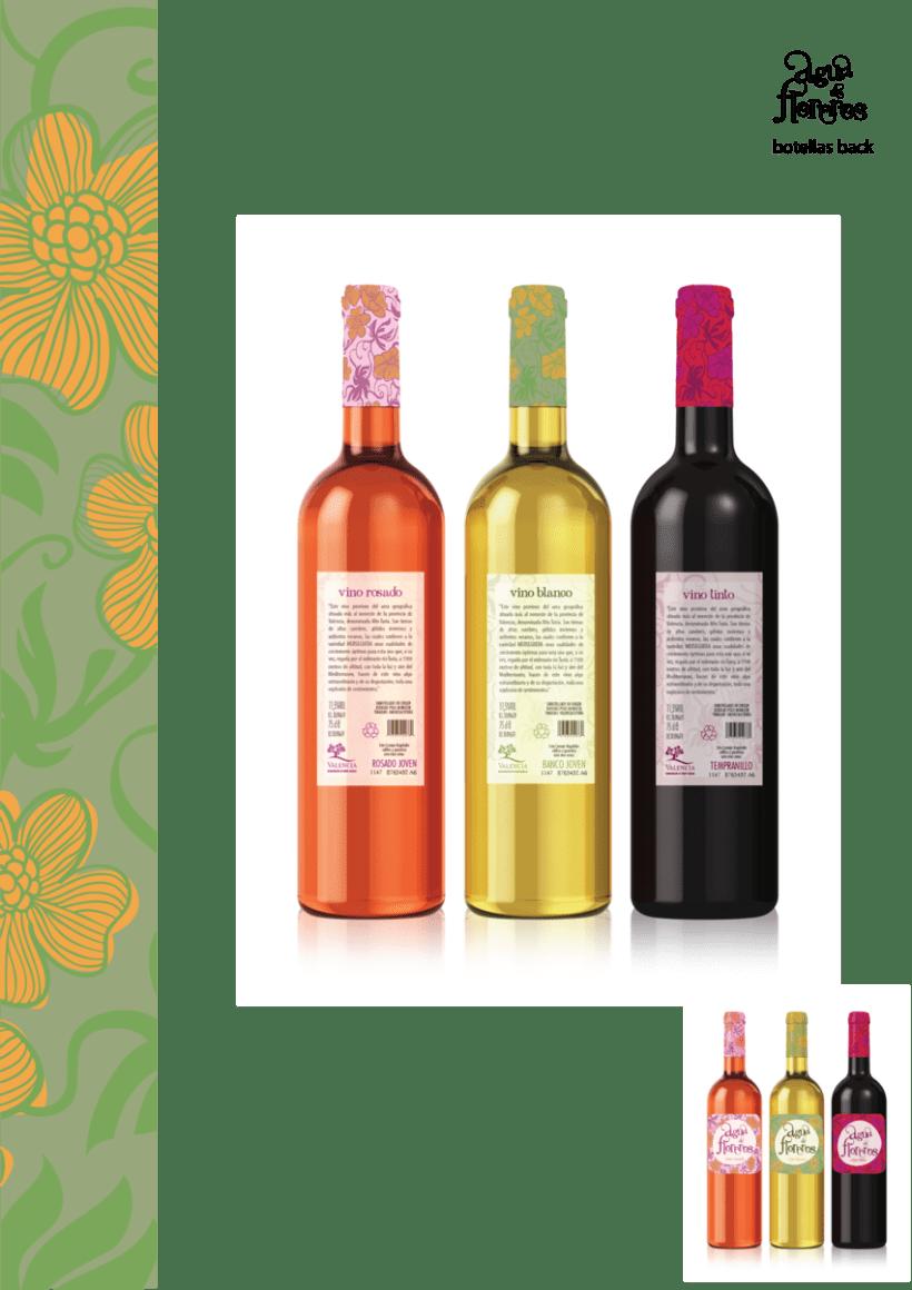 """vinos de diseño para """"La Valenciana"""" 4"""