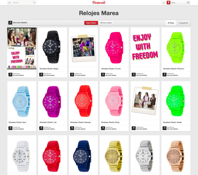 PROPUESTA ENJOY WITH FREEDOM - Relojes Marea 4
