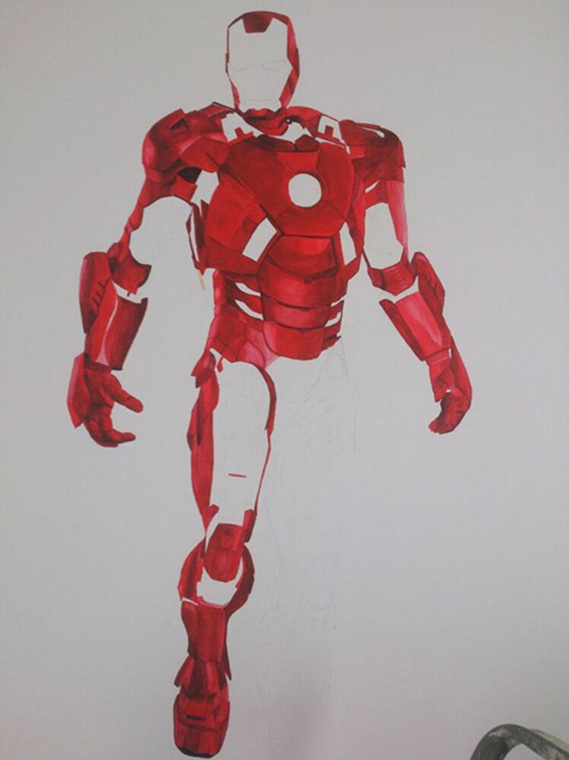 MURAL IRON MAN : MARK VII  3