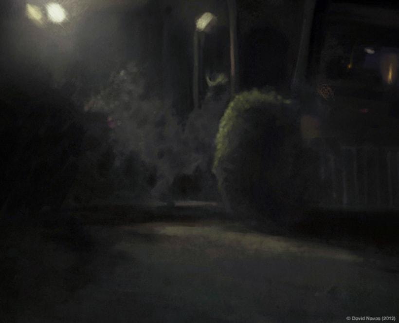 Pintando en la oscuridad 1
