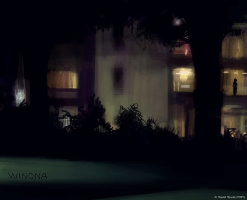 Pintando en la oscuridad 9