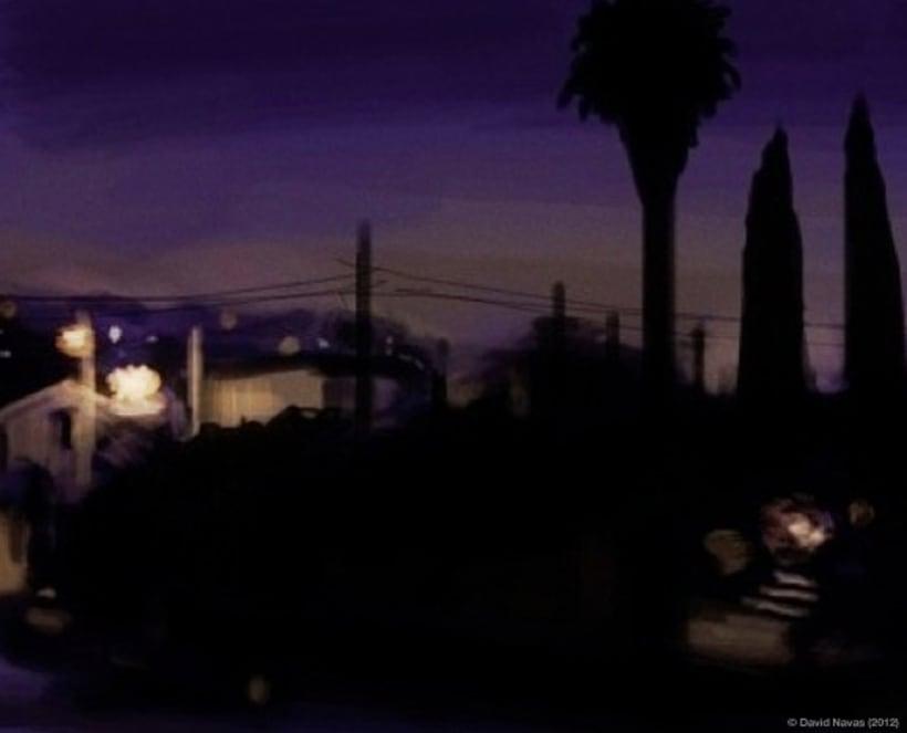 Pintando en la oscuridad 7