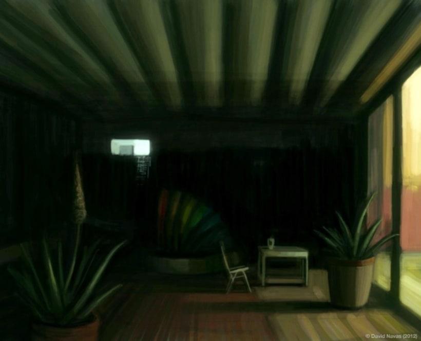 Pintando en la oscuridad 6