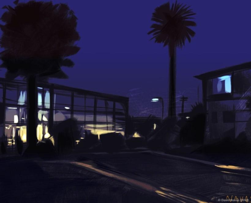 Pintando en la oscuridad 5