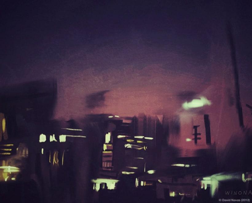 Pintando en la oscuridad 2
