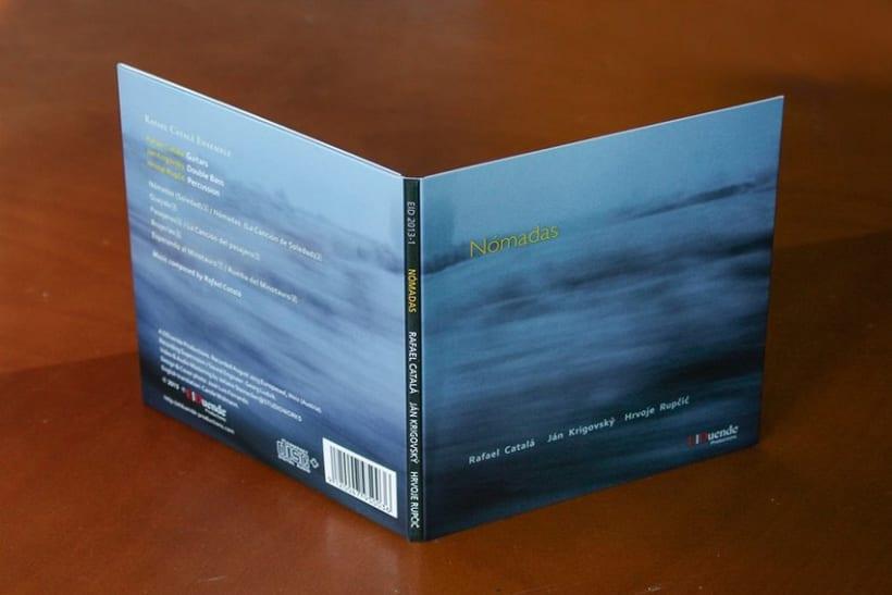 Diseño, maquetación de CD y art work 0