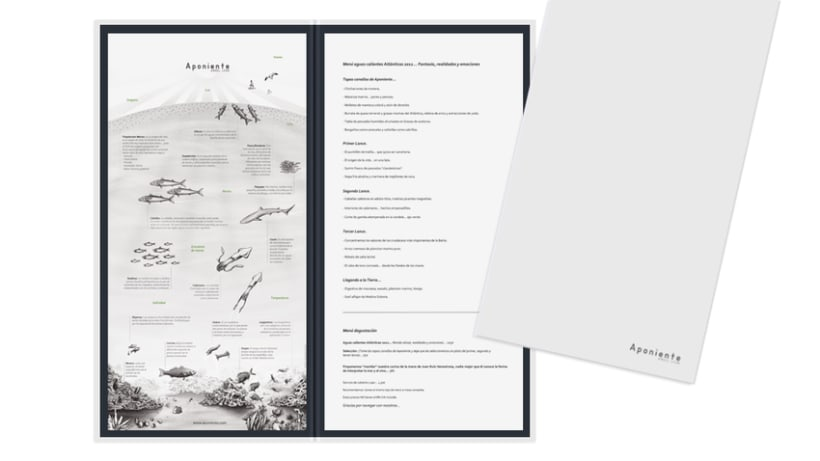 Carta Restaurante Aponiente 1