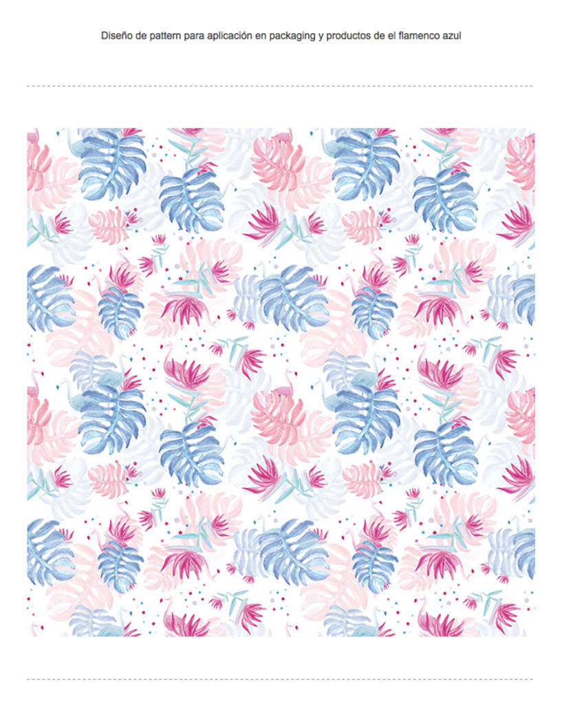 Pattern - Flamingos in hawaii 0