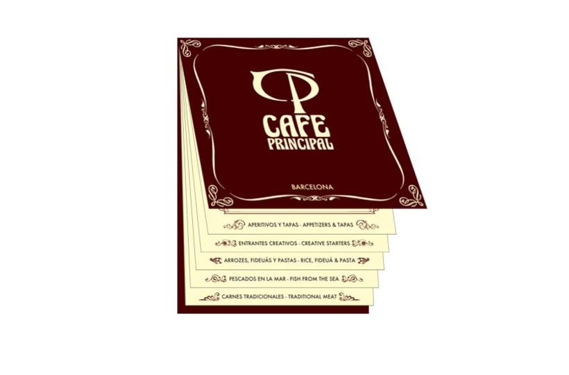 Imagen corporativa Cafetería Principal 1