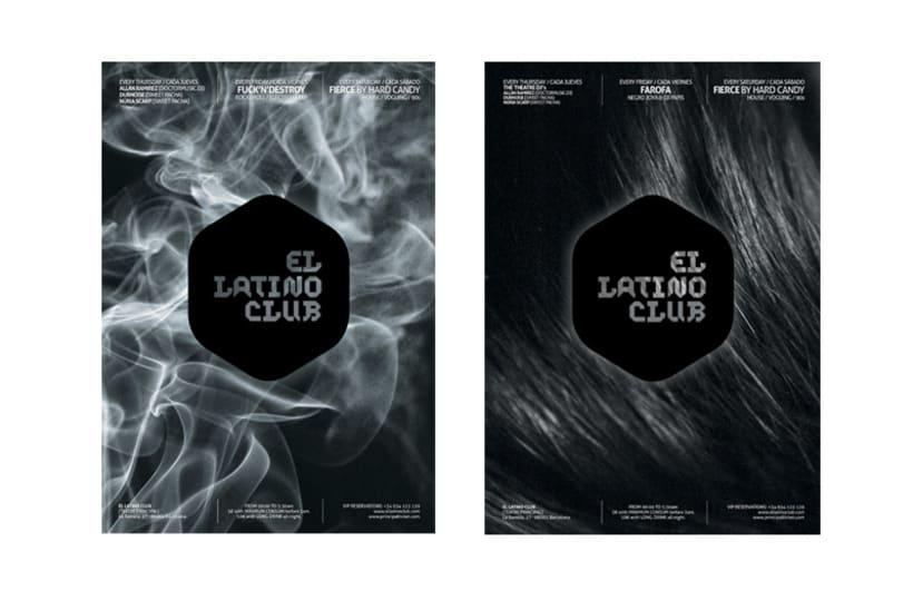 Imagen corporativa El Latino Club / Teatro 1