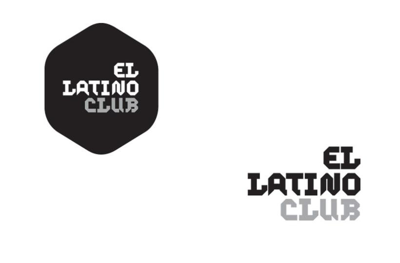 Imagen corporativa El Latino Club / Teatro 0