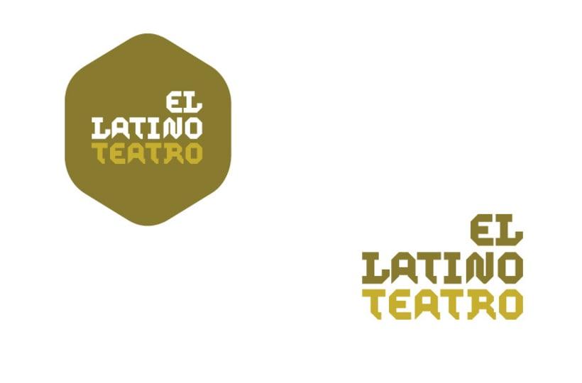 Imagen corporativa El Latino Club / Teatro 4