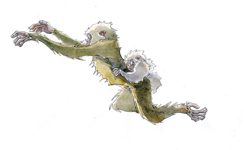 Monkey Business_watercolors 0
