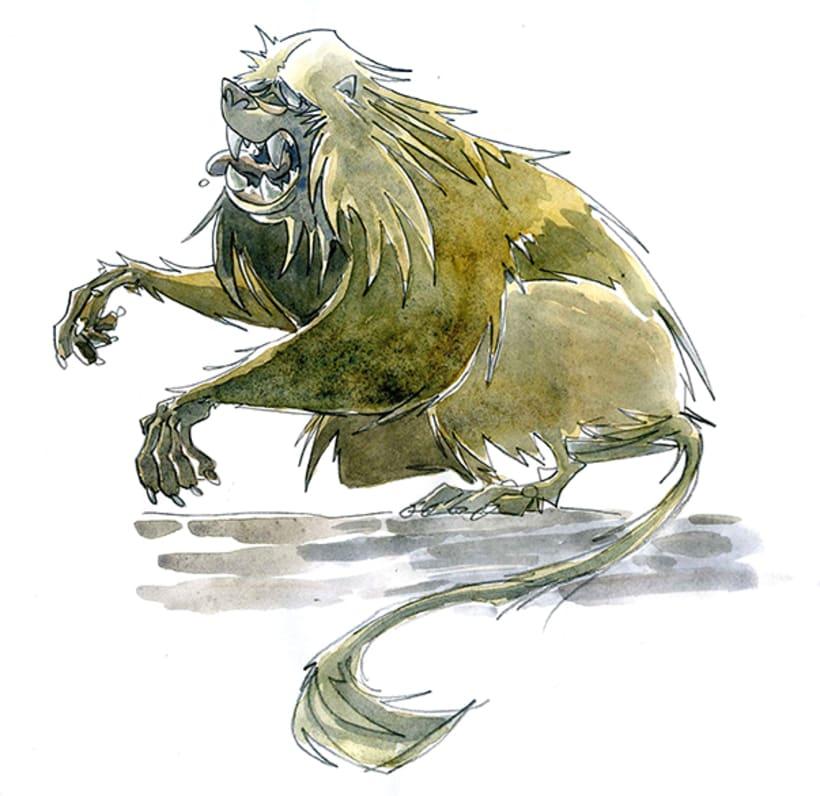 Monkey Business_watercolors 2