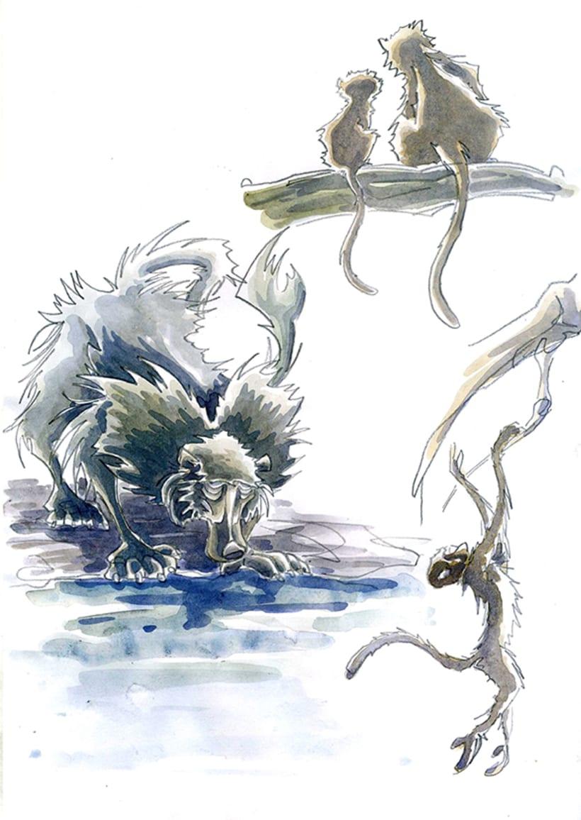 Monkey Business_watercolors 1