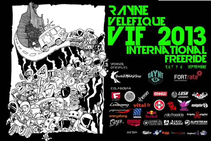 Cartel Rayne Velefique International Freeride 2013 0