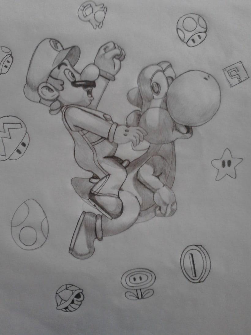 Mario y Yoshi -1