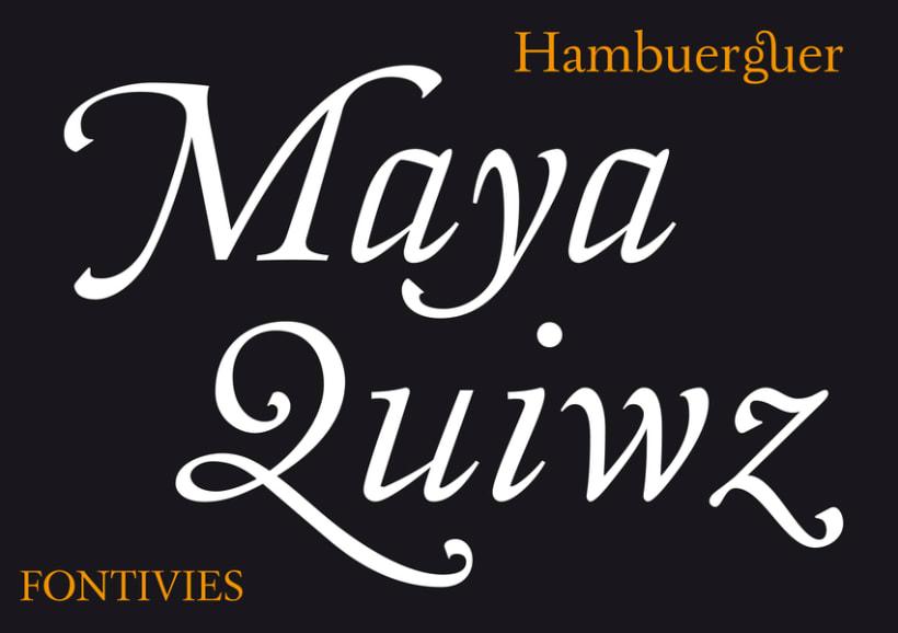 Nuestras tipografías 7
