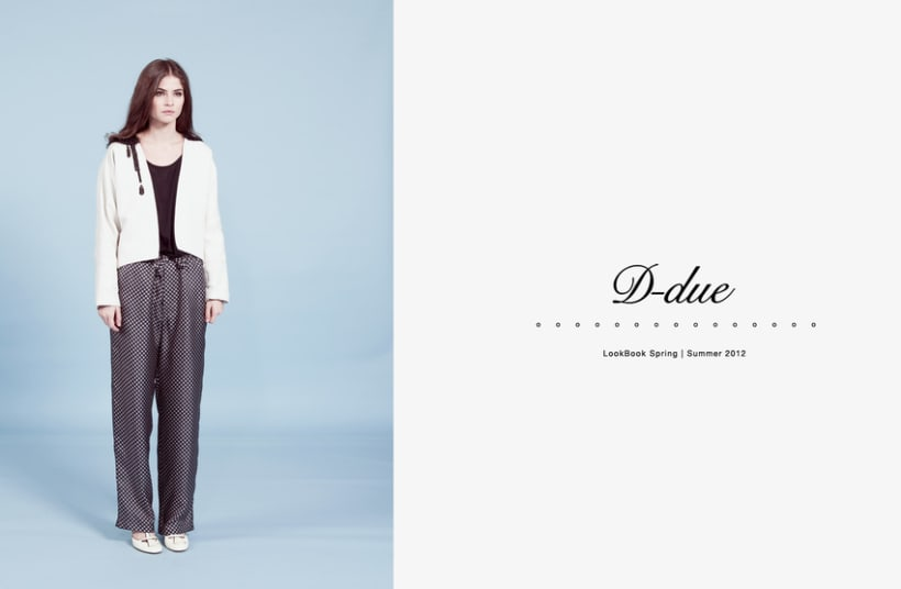 D-due LookBook Spring / Summer 2012 1