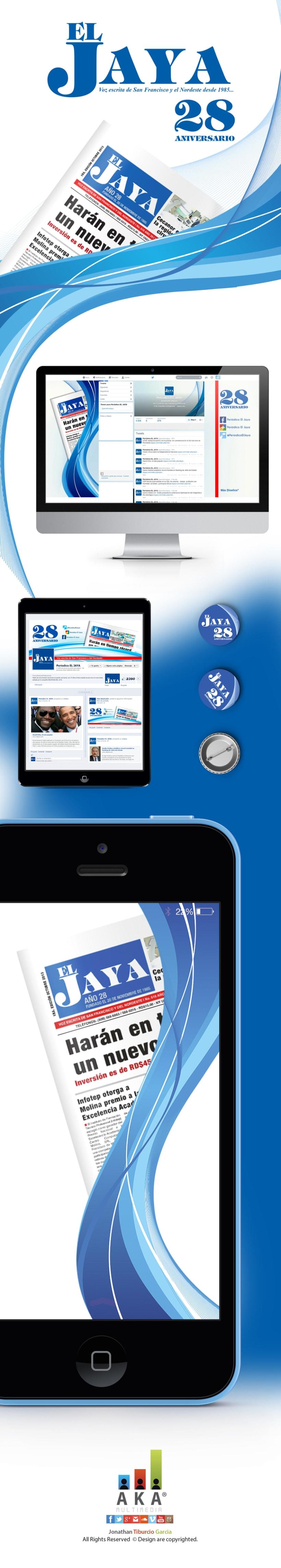Social Media para 28 Aniv. Periodico El Jaya -1
