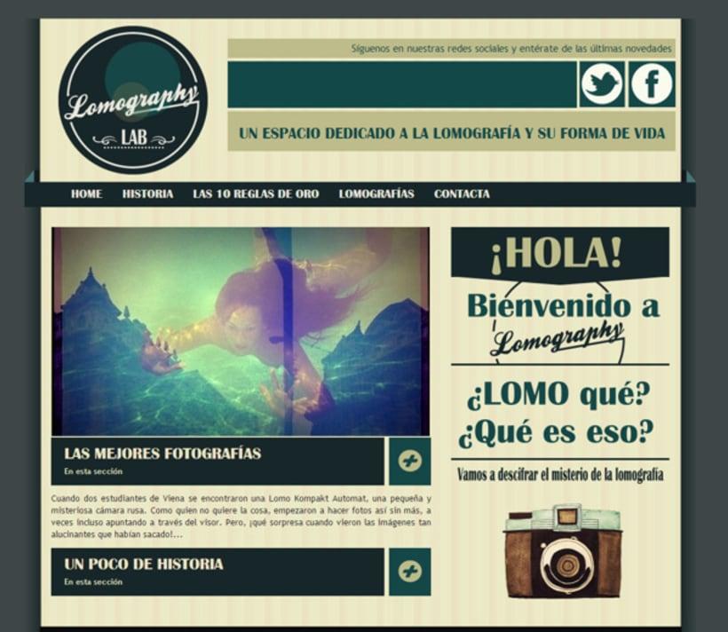 Lomography HTML + CSS -1
