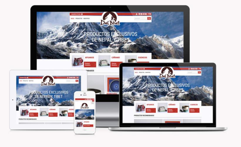 Dal Bhat, tienda online e identidad de marca / www.dalbhat.es 1