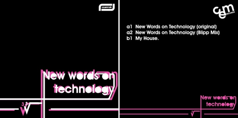 """Cover """"New words on technology"""" (couenmain) -1"""