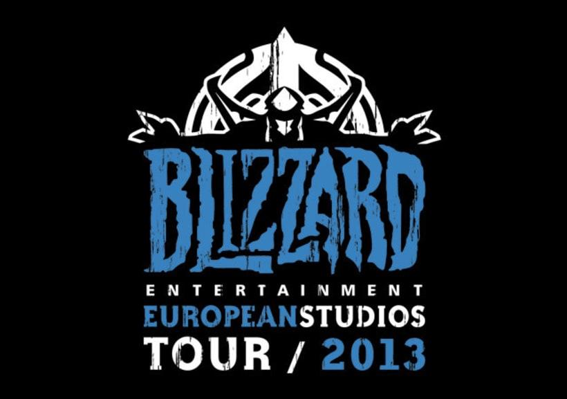 Camiseta para el Tour europeo de Blizzard -1