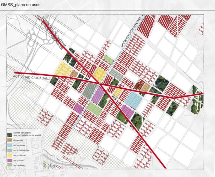 Nuevo Plan Urbano Sur-Este Madrid 0