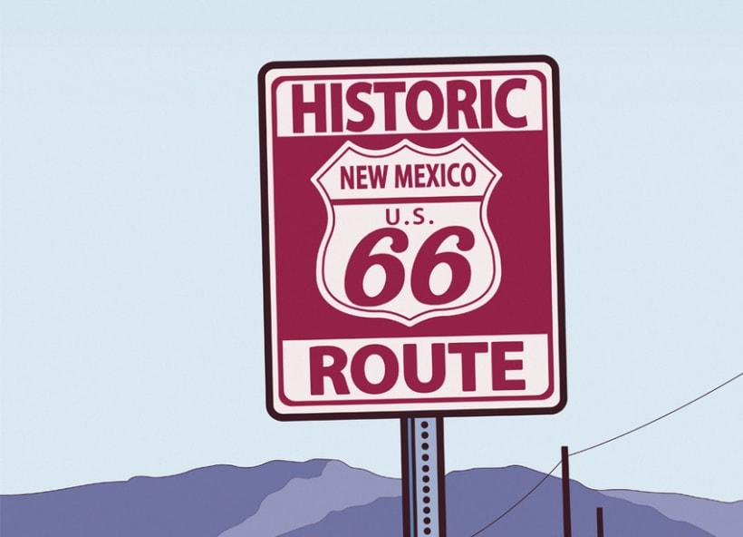 Vectorial Route 66* 0