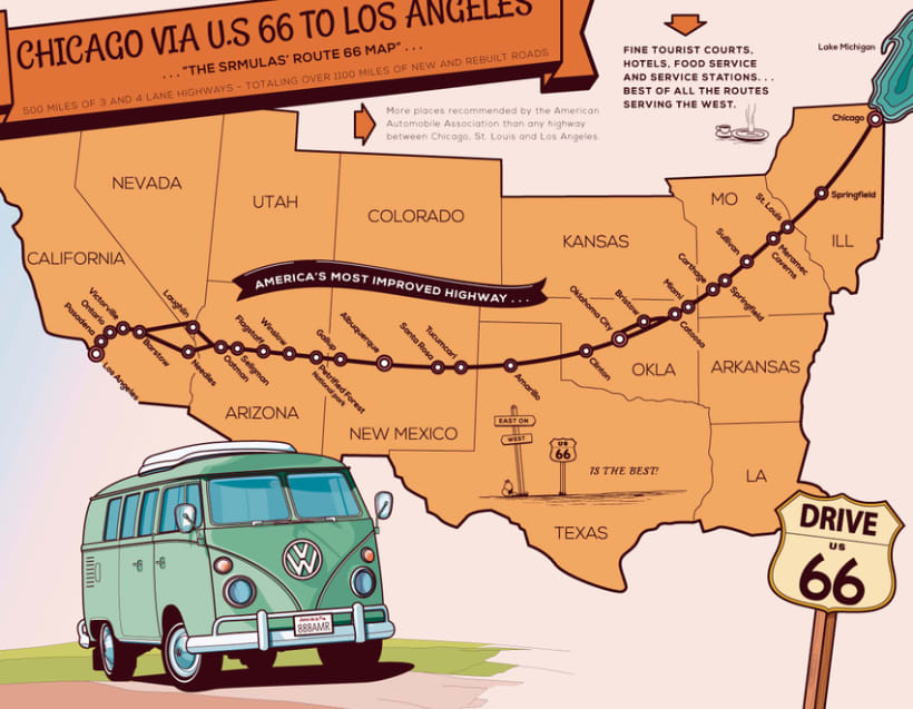 Vectorial Route 66* 1