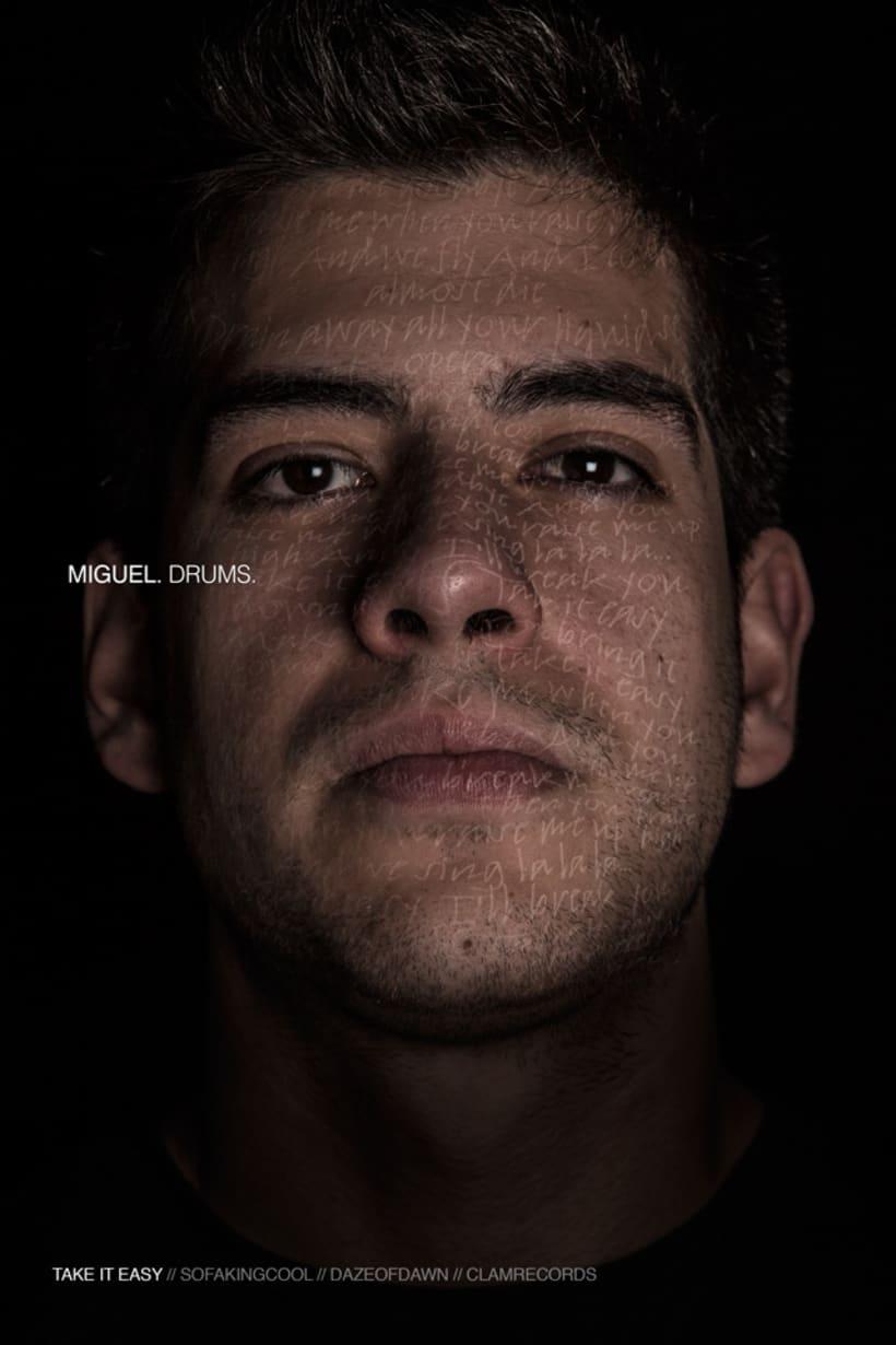 I FREEZE THAT LOOK //Daze of Dawn (+ Gabriel) // Rock Band Promo Shots 3