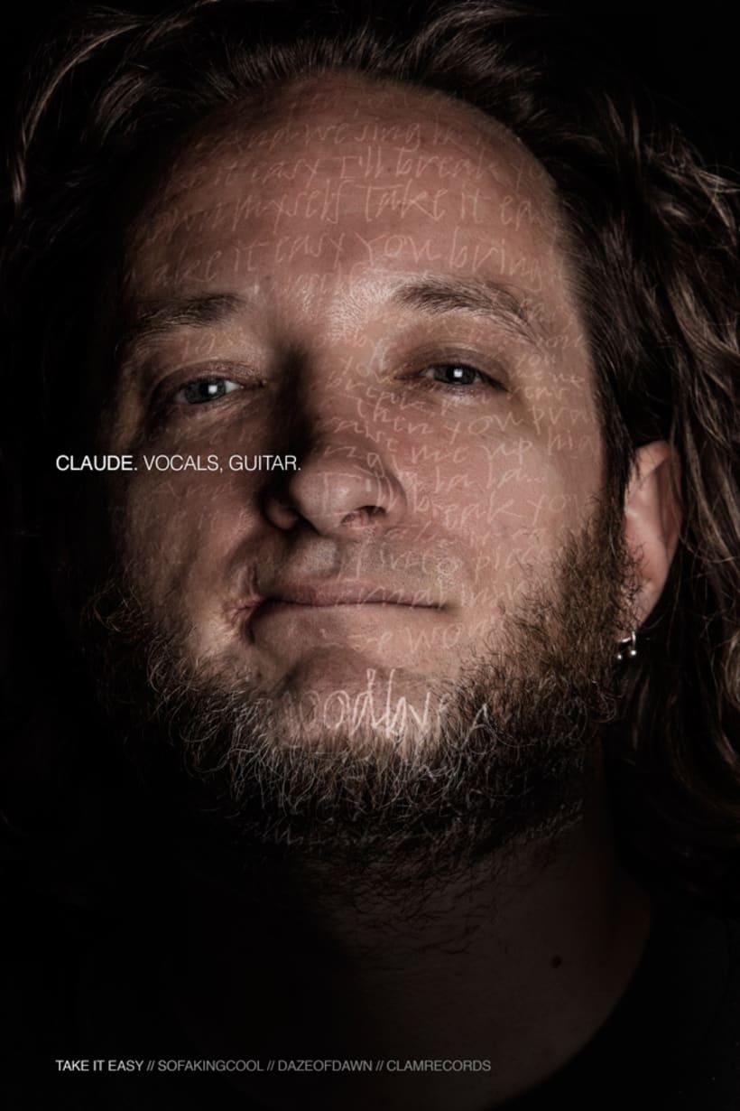 I FREEZE THAT LOOK //Daze of Dawn (+ Gabriel) // Rock Band Promo Shots 1