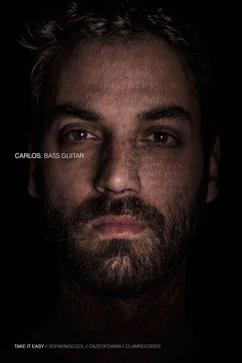 I FREEZE THAT LOOK //Daze of Dawn (+ Gabriel) // Rock Band Promo Shots 2