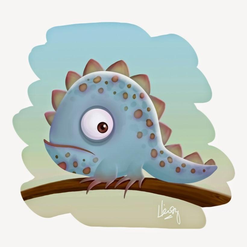 Cute Iguana 1