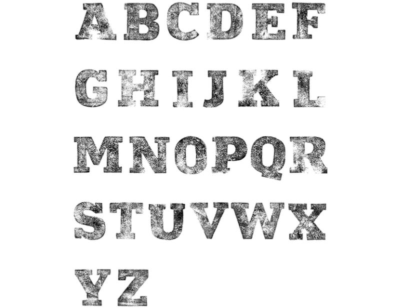 Not so popular font 10