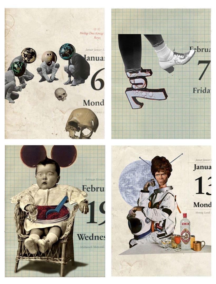 Los días contados / collage 2
